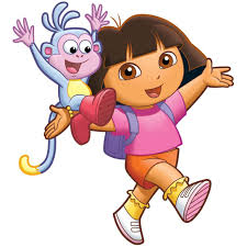 dora the explorer image coloring kids