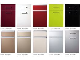 china used colorful wood kitchen cabinet doors only with aluminum