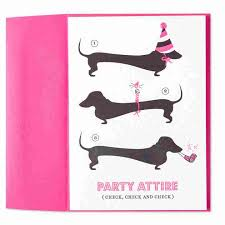 attire weiner dogs letterpress by marcel schurman