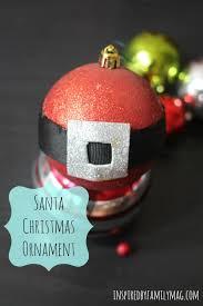santa ornament craft for