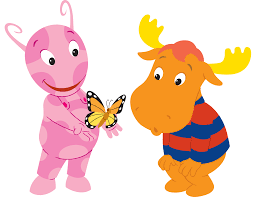 image the backyardigans uniqua tyrone butterfly png the