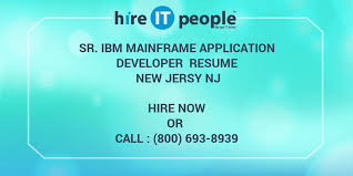 Sample Resume For 2 Years Experience In Mainframe by Sr Ibm Mainframe Application Developer Resume New Jersy Nj Hire