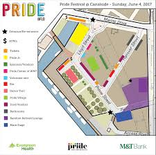 Map Buffalo Pride Festival Buffalo Pride Festival May 29 June 3 2018