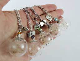 glass ball necklace images Glass globe jewelry glass globe rings glass ball rings glass JPG