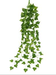 Hanging Wall Decor by Artificial Garden Green Plant Hanging Vine Plant Leaves Garland