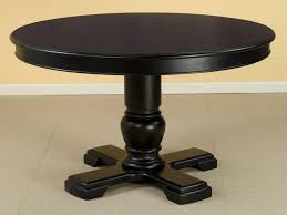 Round Pedestal Dining Tables Espresso Round Pedestal Dining Table Modern Round Pedestal