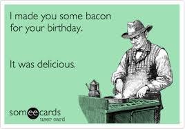 December Birthday Meme - bacon memes baconcoma com page 51