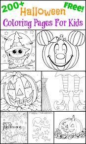 200 free halloween coloring pages for kids the suburban mom