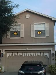 our halloween monster house decor this year great idea for