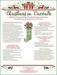 christmas oneonta business association