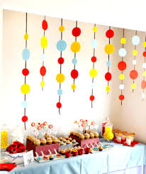 1st birthday party decorations at home the house decorations for the babies u0027 first birthday party