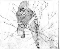 manga drawing of sasuke by snowplox on deviantart