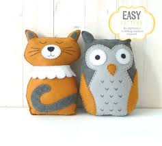 owl u0026 cat stuffed animal patterns the owl and the pussycat