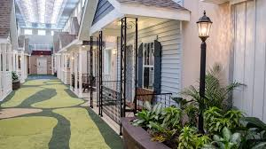 Nursing Homes In Atlanta Ga Area Lantern Indoor Assisted Living Center Features Front Porches
