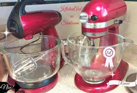 kitchen aid review kitchenaid vs sunbeam mixer unboxing side by side