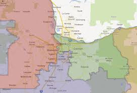 map oregon 5th congressional district oregon congressional redistricting your government the oregonian