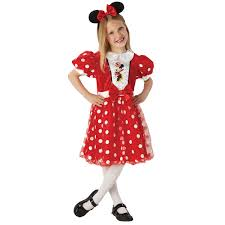 party america halloween costumes costume minnie mouse red glitz small ea party supplies