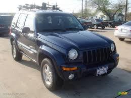 liberty jeep 2002 2002 patriot blue pearlcoat jeep liberty limited 4x4 6416964