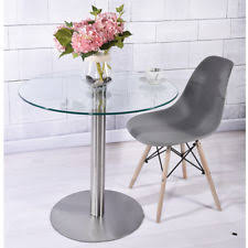 small glass kitchen table glass bistro tables tables ebay