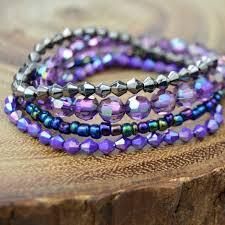 easy bracelet images How to make an easy elastic bracelets boho views jpeg