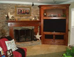 corner entertainment center like how it u0027s built out of the wall
