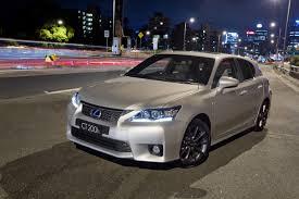 lexus hybrid ct200h lexus ct 200h australian sales start