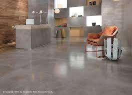 floor tile porcelain stoneware matte concrete look dwell design