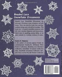 beaded lace snowflake ornaments d halpenny 9780973797367