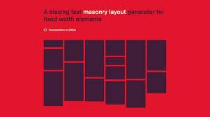 split layout js bricks js masonry layout jquery trends