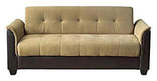 Futon Sofa Bed With Storage Amazon Com Milton Greens Stars Seattle Tufted Storage Futon Sofa