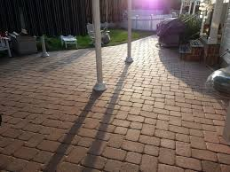 Diy Patio With Pavers Should I Seal My Paver Patio Diy How To Seal Pavers Two