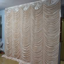 Curtain Drapes For Weddings Popular Curtain Backdrops For Weddings Buy Cheap Curtain Backdrops