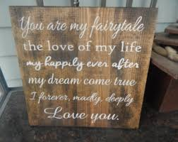 wedding quotes signs fairytale signs etsy