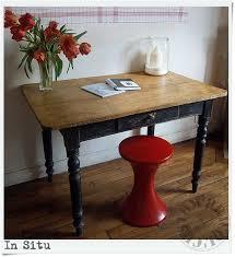 table de cuisine ancienne en bois relooker une table de cuisine patiner une vieille table de cuisine