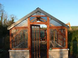 Shed Greenhouse Plans Timber Frame Greenhouse W Recycled Windows Recycled Windows