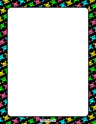 Free Halloween Borders And Frames Halloween Border Paper Clipart Panda Free Clipart Images