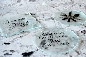 personalized glass cutting board diy personalized cutting boards simply darr