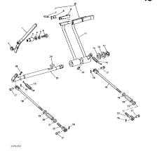 brake rods brake pedal springs for john deere compact tractors