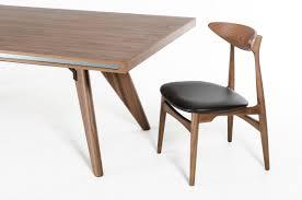 modrest kennedy mid century walnut dining table