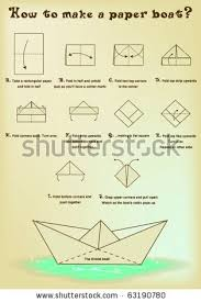 How To Make Boat From Paper - paper boat gonna make this with paper and put
