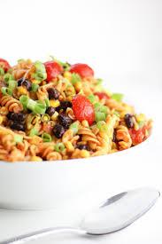 Cold Pasta Salad Recipe Taco Pasta Salad Made Healthy Veggie Balance