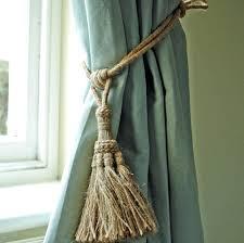 Curtain Tie Backs For Curtains Tie Backs Diy Curtain Nursery Tiebacks For Childrens