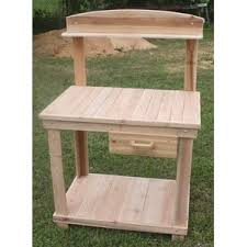 Outdoor Potters Bench Potting Benches U0026 Tables You U0027ll Love Wayfair