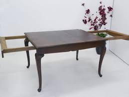 Esszimmertisch Ausziehbar Rund Eiche Tisch Ausziehbar Antik Dunkelbraun Carprola For