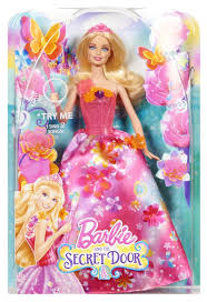 barbie secret door princess alexa singing doll spanish
