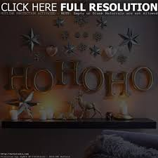 Elegant Christmas Wall Decorations by Christmas Wall Decor Best Christmas Decorations