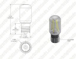 t22 led replacement bulb for wb36x10003 and other microwave light