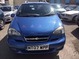 chevrolet tacuma 1 6 petrol sx manual 2007 low mileage 65000 miles