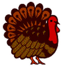 happy thanksgiving turkey clipart black and white 3 clipartix
