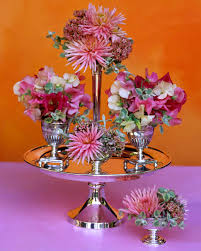 Small Flower Vases Centerpieces Summer Flower Arrangements Martha Stewart